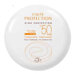 AVÈNE SOLAIRE Haute Protection Compact Teinté Sable SPF 50 - 10G