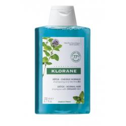 KLORANE Shampoing Détox à la Menthe - 200ML