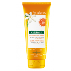 KLORANE POLYSIANES Gel-Crème Solaire Sublime Tamanu Bio et