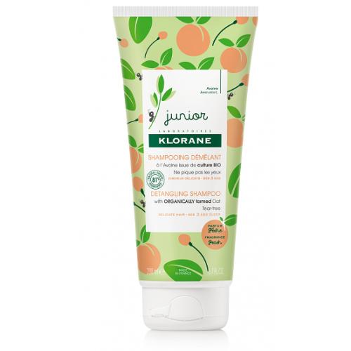 KLORANE JUNIOR Shampoing démêlant à l'Avoine Parfum Pêche -