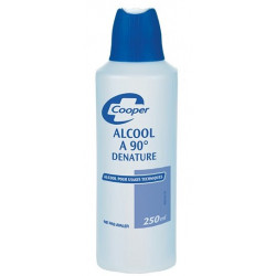 ALCOOL 90 DENATURE COOPER 250ML