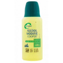ALCOOL MODIFIE COOPER solution 125 ml