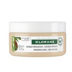 KLORANE Masque Réparateur 3 en 1 au Cupuaçu Bio - 150ml