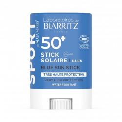 BIARRITZ STICK SOLAIRE SPF50+ SPORT/ VOYAGE BLEU CERTIFIÉ BIO -