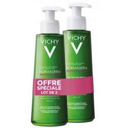 VICHY NORMADERM PHYTO GEL NETTOYANT x 2 - 400 ml
