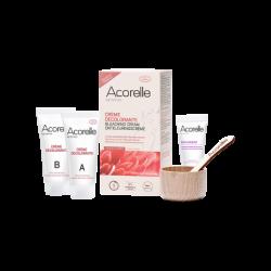 ACORELLE CRÈME DÉCOLORANTE VISAGE & CORPS 2 X 30 ml + SOIN - 15