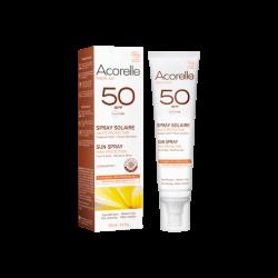 ACORELLE SPRAY SOLAIRE BIO SPF50 - 100 ml