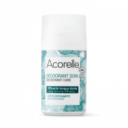 ACORELLE DÉODORANT ROLL ON BIO CERTIFIÉ LOTUS BERGAMOTE - 50 ml