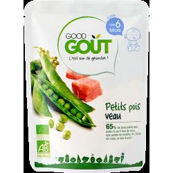 GOODGOUT PETITS POIS VEAU - 190 g
