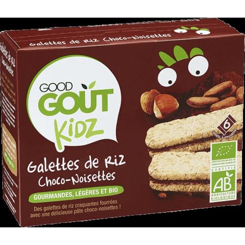 GOOD GOUT GALETTES DE RIZ CHOCO-NOISETTES - 120 g