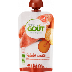 GOOD GOUT PATATE DOUCE - 120 g