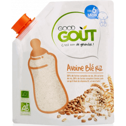 GOOD GOUT AVOINE BLÉ RIZ - 200 g