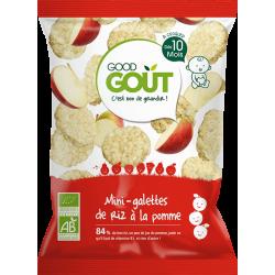 GOOD GOUT MINI-GALETTES DE RIZ À LA POMME - 40 g