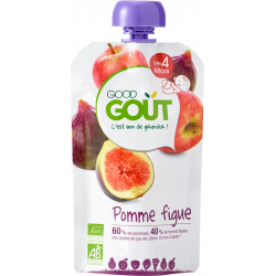 GOOD GOUT POMME FIGUE - 120 g