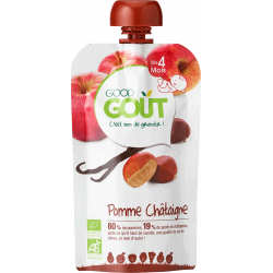 GOOD GOUT POMME CHATAIGNE - 120 g