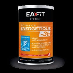 EAFIT BOISSON ENERGETIQUE -3H Saveur Fruits Rouges - 10 x 500ml