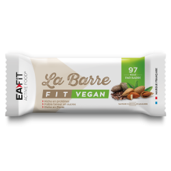 EAFIT LA BARRE FIT VEGAN Saveur Chocolat Amande 28g