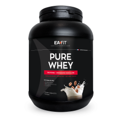 EAFIT PURE WHEY Construction Musculaire Saveur Cappuccino 750g