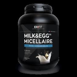 EAFFIT MILK&EGG 95 MICELLAIRE Construction Musculaire Saveur