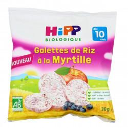 HIPP GALETTE RIZ/ MYRTILLE - 30 g