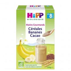HIPP CEREALE BANANE CACAO - 250 g