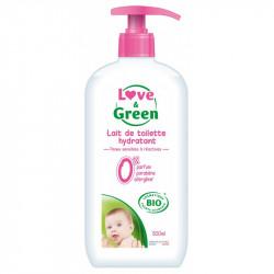 LOVE & GREEN LOVE LAIT TOILETTE BIO - 500 ml