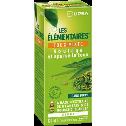 UPSA LES ELEMENTAIRES Toux Mixte Sans Sucre Extrait De Plantain