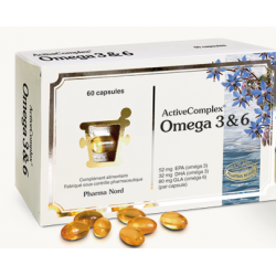 PHARMA NORD ACTIVE COMPLEX OMEGA 3-6 - 60 Capsules