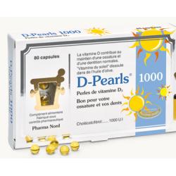 PHARMA NORD D-PEARLS 1000 80 Capsules
