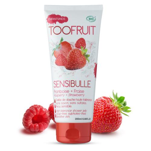 Too Fruit Sensibulle Fraise-framboise douche tube - 200 ml