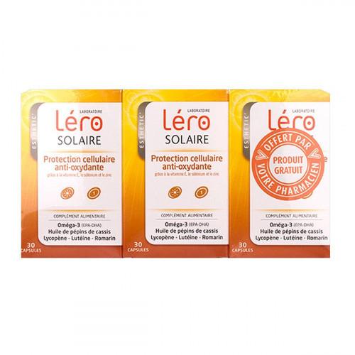 LERO SOLAIRE x 3 - 30 Capsules