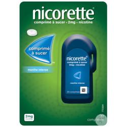 NICORETTE Menthe Intense 2 mg - 20 Comprimés à sucer