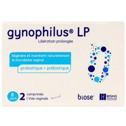GYNOPHILUS LP Probiotic + Prébiotique 2 Comprimés