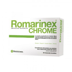 DISSOLVUROL ROMARINEX CHROME - 10 ml x 20 Ampoules