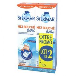 STÉRIMAR BÉBÉ NEZ BOUCHÉ LOT 2 - 100 ml