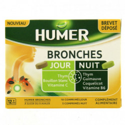 HUMER BRONCHE JOUR/NUIT CPR 15