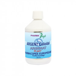 Pharma Phyt Argent Colloidal Solution 25 Ppm 500ml