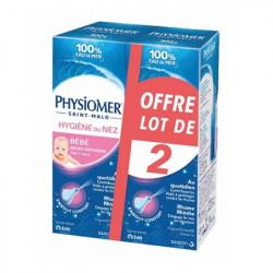 Physiomer Bébé Hygiène du Nez - Lot de 2X115 ml