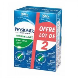 PHYSIOMER SPRAY DOUX, SPRAY NASAL LOT DE 2 x 135 ml