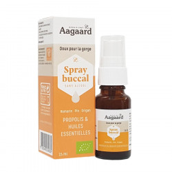 AAGAARD SPRAY BUCCAL SANS ALCOOL - 15 ml