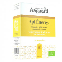 AAGAARD API ENERGY - 10 Ampoules