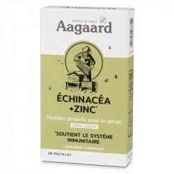 AAGAARD PROPOLENTUM ECHINACEA + ZINC - 30 Pastilles