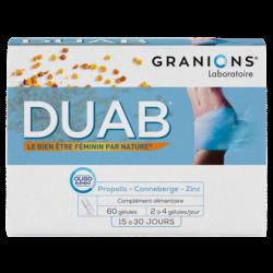 DUAB Propolis Canneberge Zinc - 60 Gélules