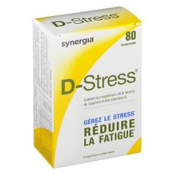 D STRESS Complément alimentaire anti-fatigue Boîte/80