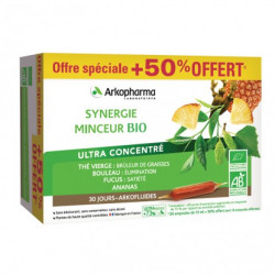 ARKOPHARMA BIO SYNERGIE MINCEUR 20 Ampoules 10 OFF