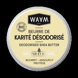 WAAM BEURRE DE KARITÉ DÉSODORISÉ - 100 ml