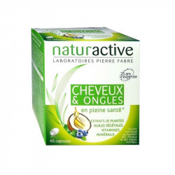 NATURACTIVE CHEVEUX & ONGLES - 45 Capsules