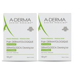 ADERMA Pain Dermatologique - 2x100G