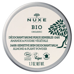 NUXE BIO ORGANIC Déodorant Peau Sensible 24H Amande & Poudre