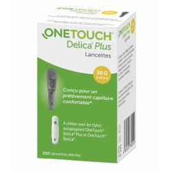 ONE TOUCH DELICA PLUS LANCETTE - 200 Lancettes